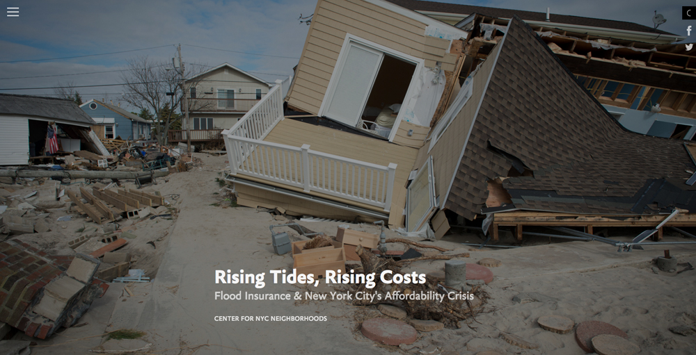 Rising Tides Rising Costs
