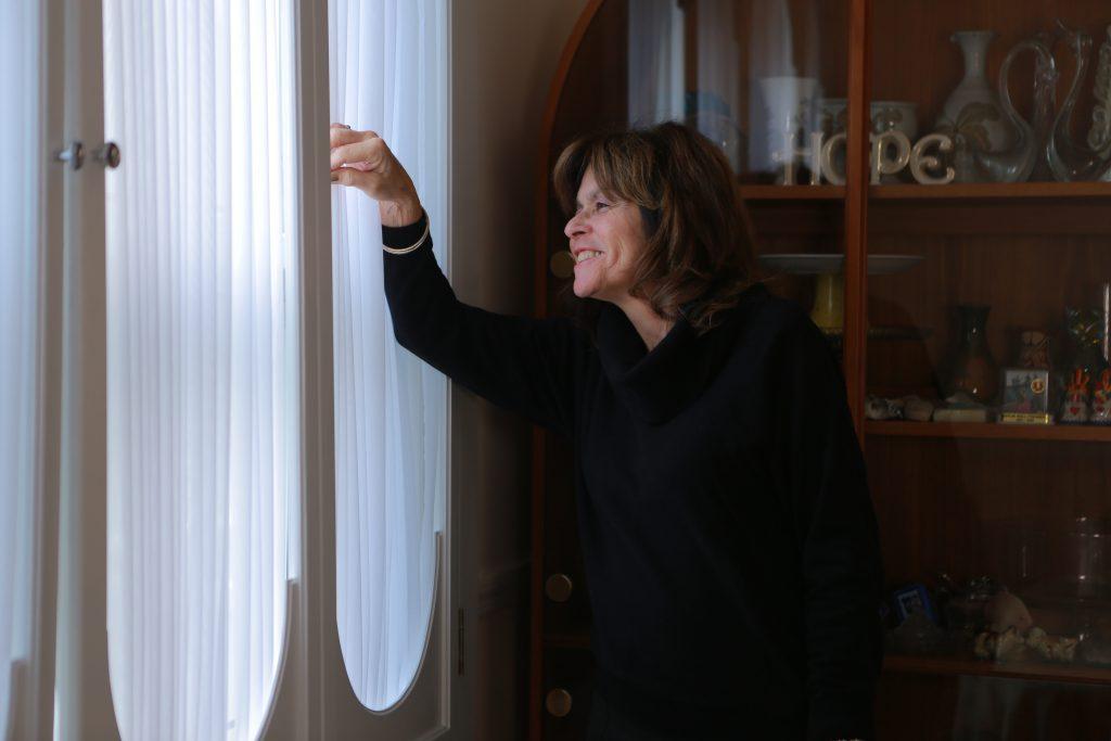 Linda Gold in her home - Rockaway, Queens